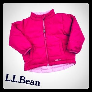 L.L. Bean Reversible Winter Coat - Girls 3T